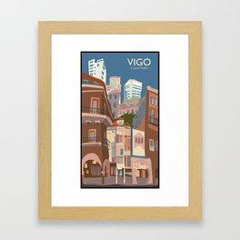 Vigo Framed Art Print
