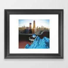 Way To Blue - Omni Challenge #4 Framed Art Print