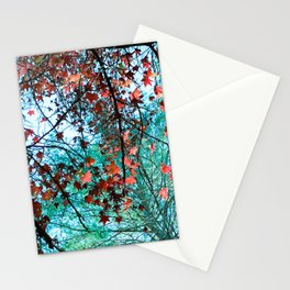 Maple Tree Stationery Cards