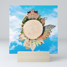 Little Planet Rostock Mini Art Print