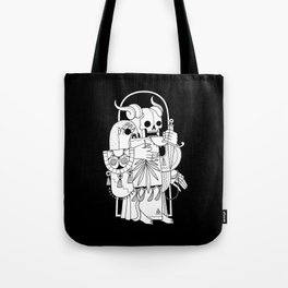 Death's Journey Tote Bag