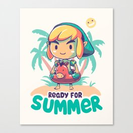 Ready for Summer Canvas Print