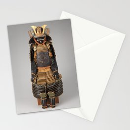 Historical Samurai Armor Photograph (17th-18th Century) Stationery Cards
