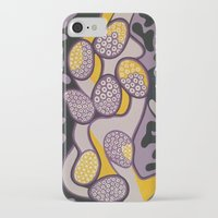 gossip girl iPhone & iPod Cases featuring Yellow gossip by Sandyshow