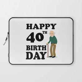 FUNNY OLD | 1978 Birthday Shirt Laptop Sleeve