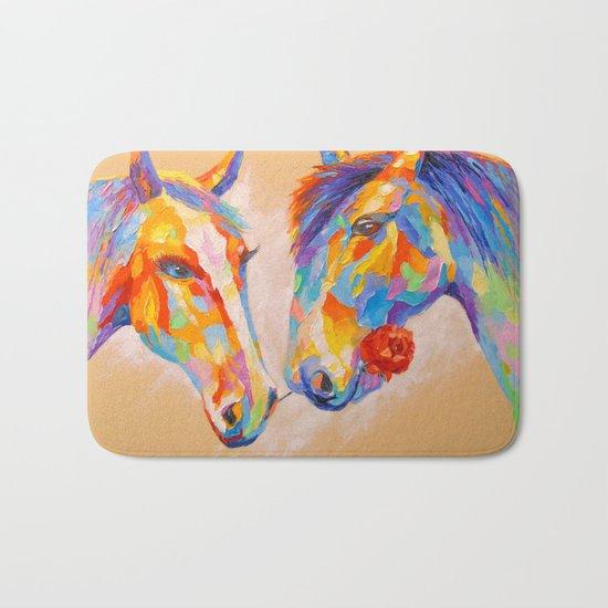 Love horses Bath Mat