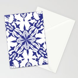Moroccan Tiles Inspired Stationery Cards