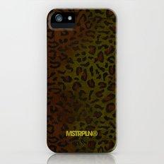 Modern Woodgrain Camouflage / Zaire KDP Print iPhone (5, 5s) Slim Case