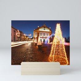 Christmas in Ribeira Grande Mini Art Print