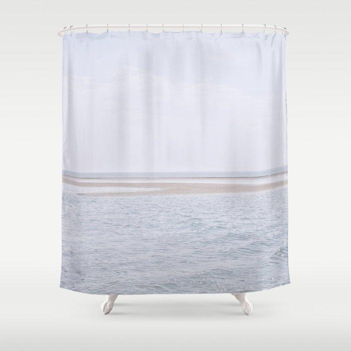 Nordic Zen Shower Curtain By 7115lab