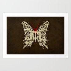 Deadly Species Art Print