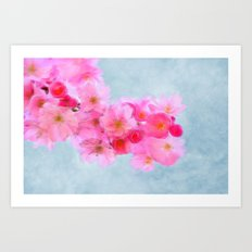 Cherry Blossom (in memory of Mackenzie) Art Print