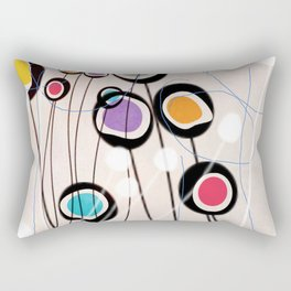 Colorful Signs Rectangular Pillow