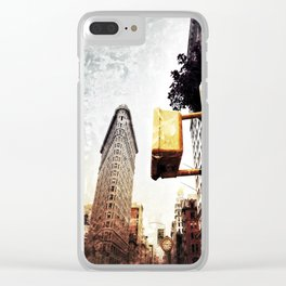 New Yorker: Flatiron District Clear iPhone Case