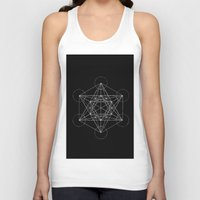 sacred geometry Tank Tops featuring Sacred Geometry Print 4 by poindexterity