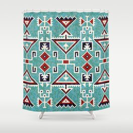Native American Navajo pattern Shower Curtain
