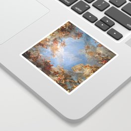 Fresco in the Palace of Versailles Sticker