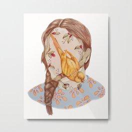 Self Portrait I Metal Print