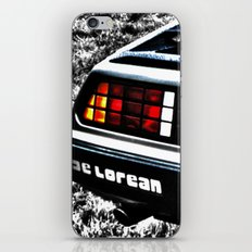 Where We're Going, We Don't Need Roads! iPhone & iPod Skin