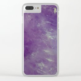 Royal Clear iPhone Case