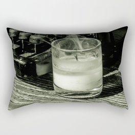Before it's too late Rectangular Pillow