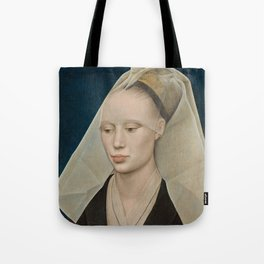Portrait of a Lady by Rogier van der Weyden Tote Bag