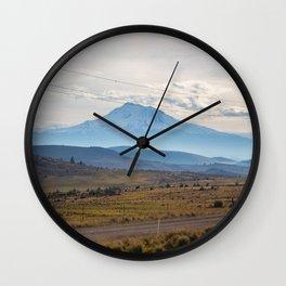 Shasta Road Wall Clock