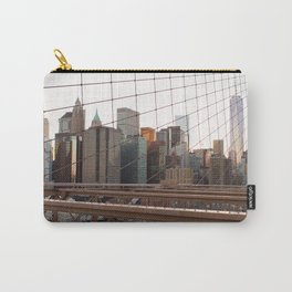 Crossing the Brooklyn Bridge Carry-All Pouch