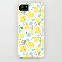 Summer Sippin' iPhone Case