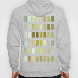 Pale Yellow Poinsettia 1 Abstract Rectangles 2 Hoody