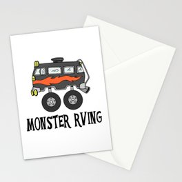 Monster RVing Stationery Cards