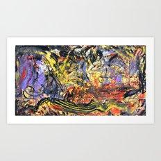 Parachutes 00' Art Print