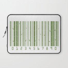 Bamboo Barcode Laptop Sleeve