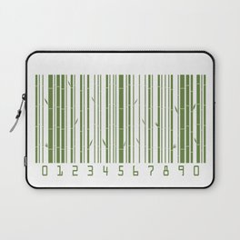 Bamboo Barcode Laptop Sleeve