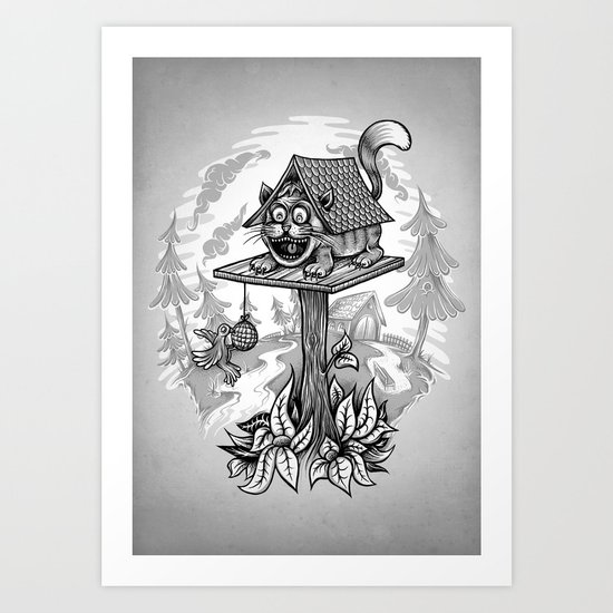 Cleverness Art Print