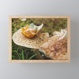 Baby Fairy Framed Mini Art Print