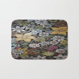 Flowers - Pattern Design - - Wild Veda Bath Mat