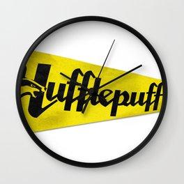 Hufflepuff 1948 Vintage Pennant Wall Clock