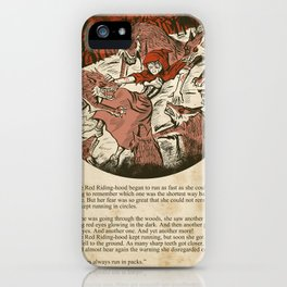 Little Red Riding Hood - Untold Ending iPhone Case