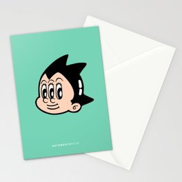 tripped out boy Stationery Cards