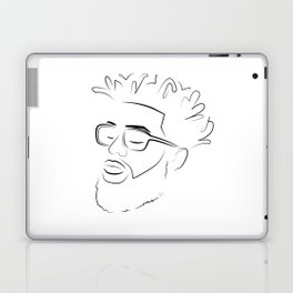 Man Hair Laptop & iPad Skin