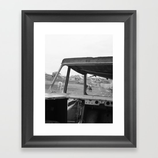 Olchon Framed Art Print