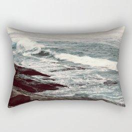 Cyan Sea #2 Rectangular Pillow