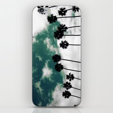 Palms in the sky iPhone & iPod Skin