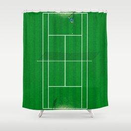 Wimbledon Tennis Championship  Shower Curtain