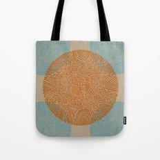 Primitive Circle Pattern Tote Bag