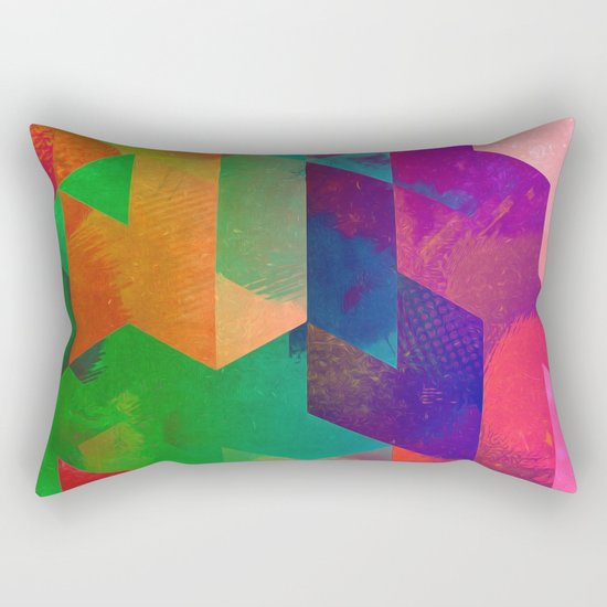 ytwwns tryb Rectangular Pillow