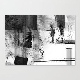 Walking through ZONA Canvas Print