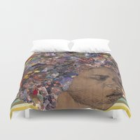afro Duvet Covers featuring Afro by Chris McArdle