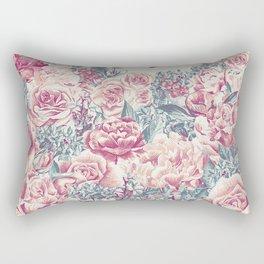 Vintage Garden 21 (Misty Mornings) Rectangular Pillow